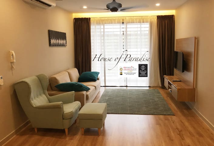 AWARD WINNING Residence+Kids Friendly(WIFI 30MBPS)