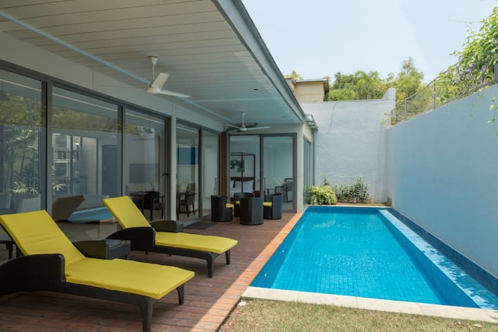Cosmo - 3 Bed With Private Pool, Arpora @North Goa