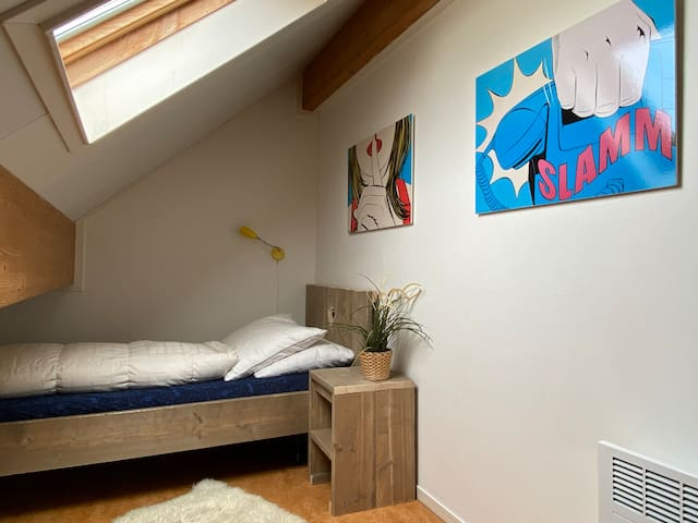 Small (4rd) bedroom for 9th person
