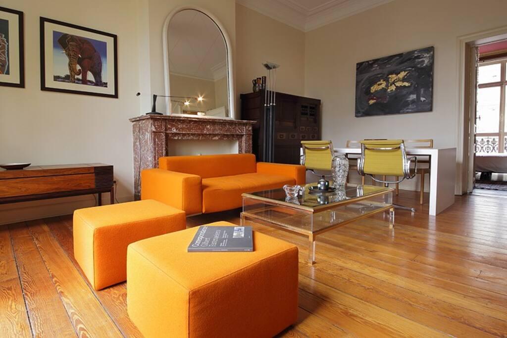 Appartement de charme avec terrasse appartements louer - Location appartement meuble bruxelles ...
