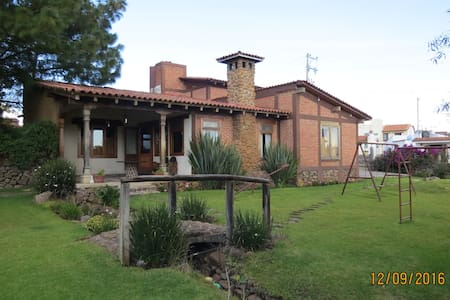 Cabaña para Chorcha Familiar - Tapalpa - Huis