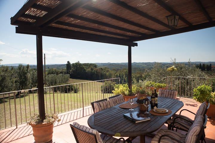 La Rimessa,farmhouse near Florence! - Romola - Apartemen