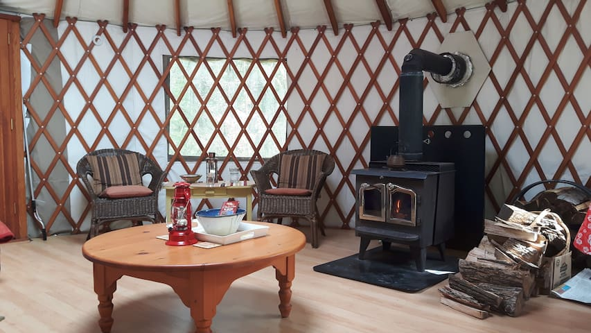 Soaring Heart Studio Retreat- Yurt