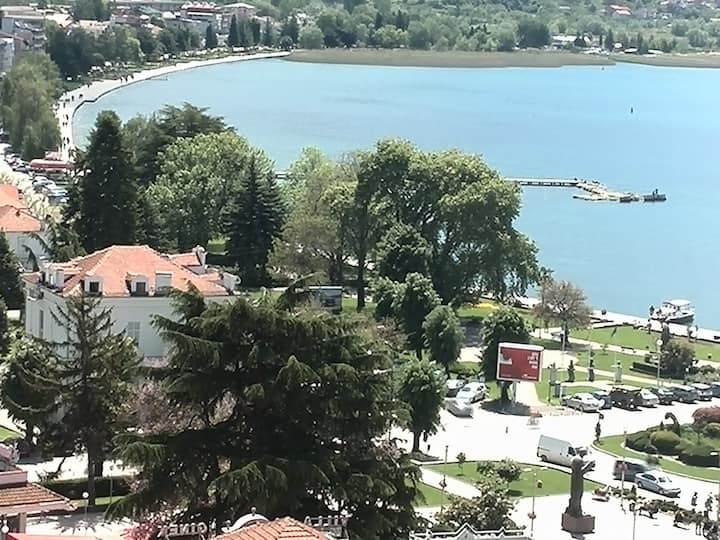 Villa Mesokastro Single Lake view