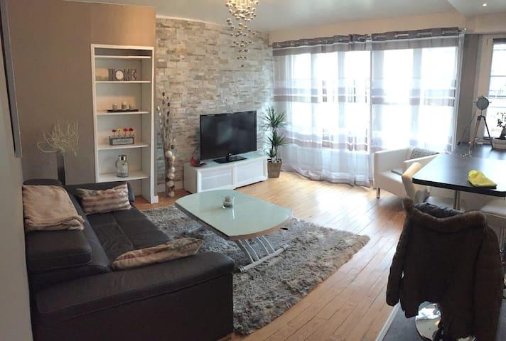 Appartement F2 tout confort avec parking privé - Lisieux - Apartment