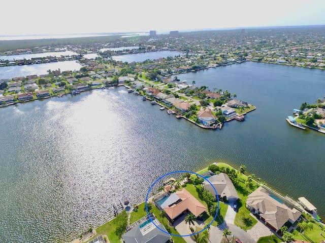Villa White Pelican in bester Lage an den 8 Lakes