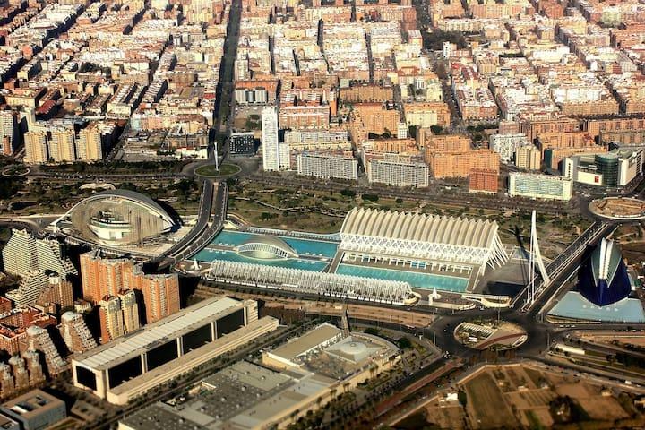 Valencia Paiporta ciudad rodeada de huertas.