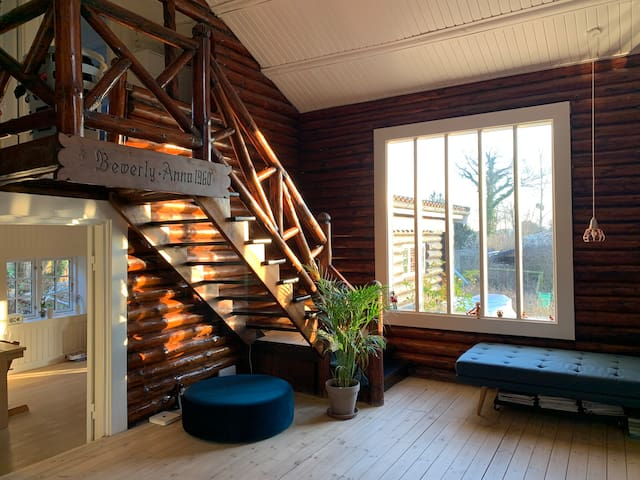 Beautiful woodhouse north of Copenhagen