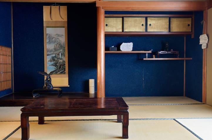 Traditional tatami Japanese style - 大和郡山市 - Casa