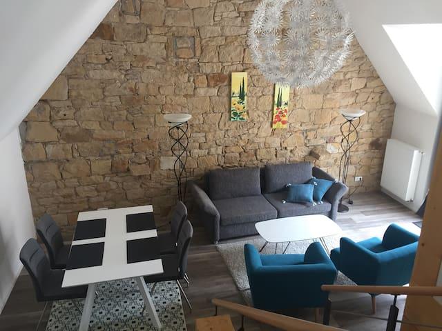 Hochwertige Ferienwohnung im Zentrum Deidesheim