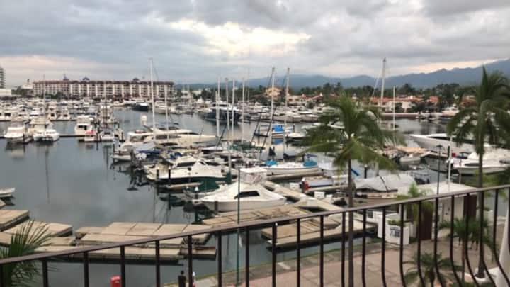 Excepcional vista a Marina Vallarta