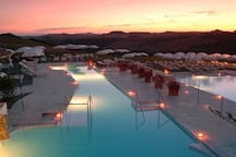 Rapolano terme (Hot springs 1hr drive)