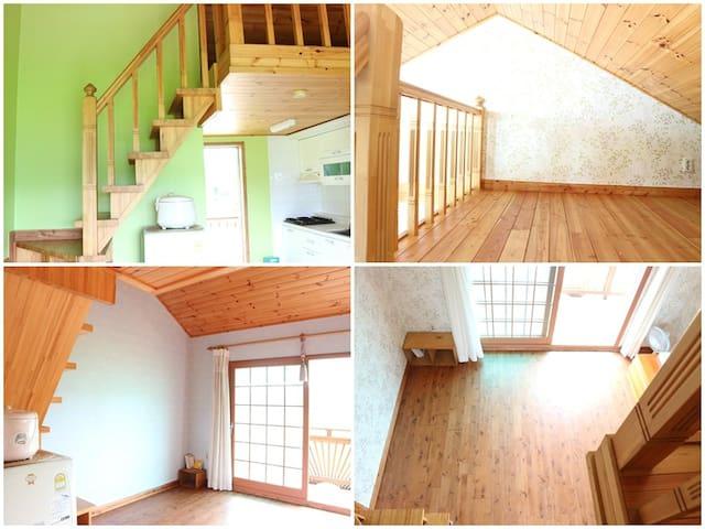 slowtravel, 바닷가 동네에서의 편안한 휴식, 복층형 객실, 시원한 전망. - Nam-myeon, Taean-gun