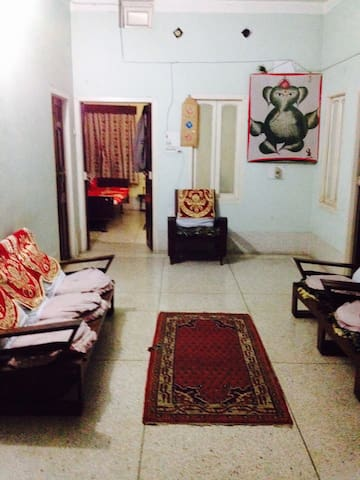 3 BR 2 BA Furnished Apt. with AC