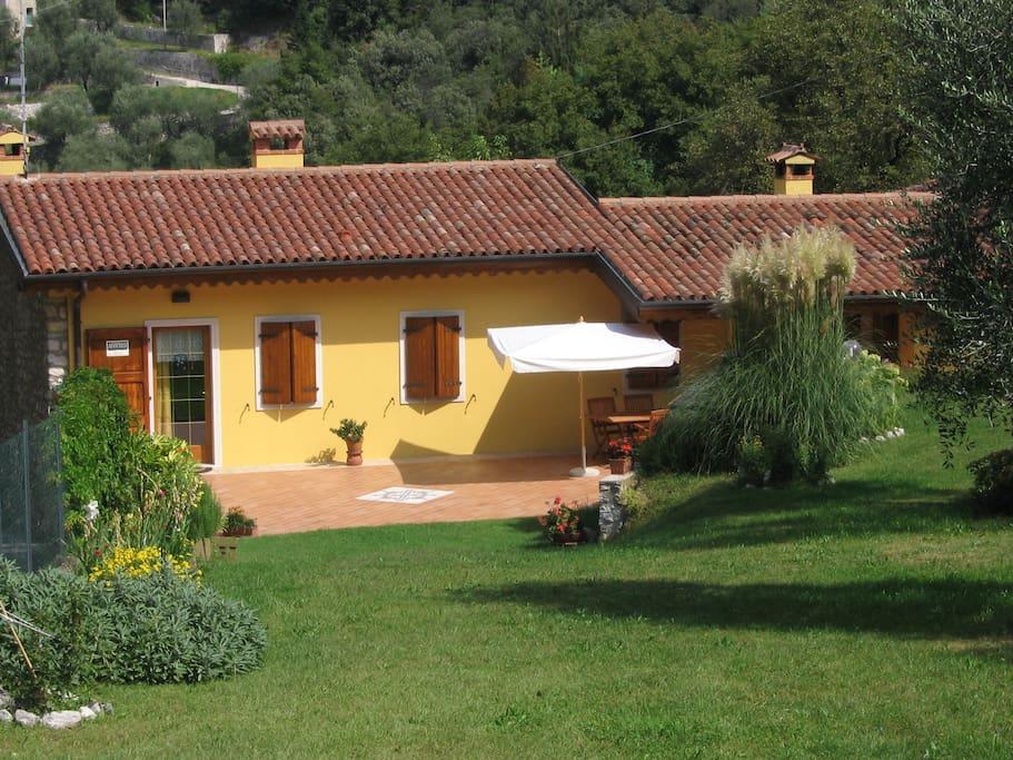 casa con giardino - Appartamenti in affitto a Malcesine ...