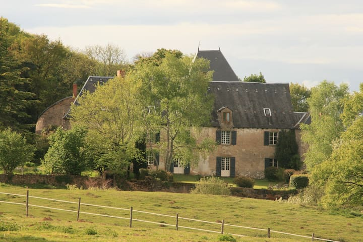 Quiet Romantic Medieval Chateau  - Fromental - Kasteel