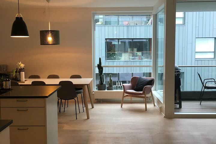 Lovely apartment in Østerbro, near the ocean.