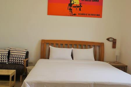 以馬內利衝浪旅店-雙人房 - House