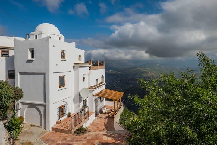 Cliff top apartment Comares - Comares - Departamento