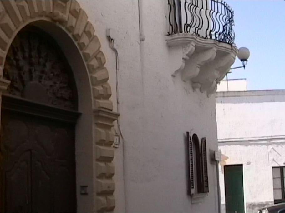 Portone d' ingresso della struttura