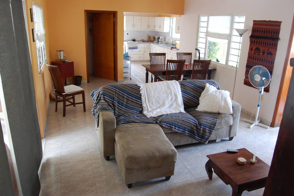 Huiskamer en ruime keuken