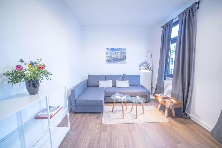 Schicke Wohnung mitten im Viertel
