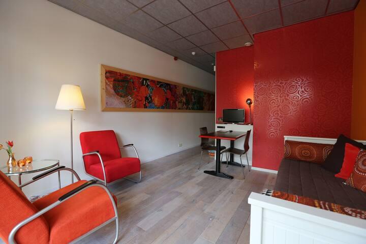 Retro studio Jugendstil villa