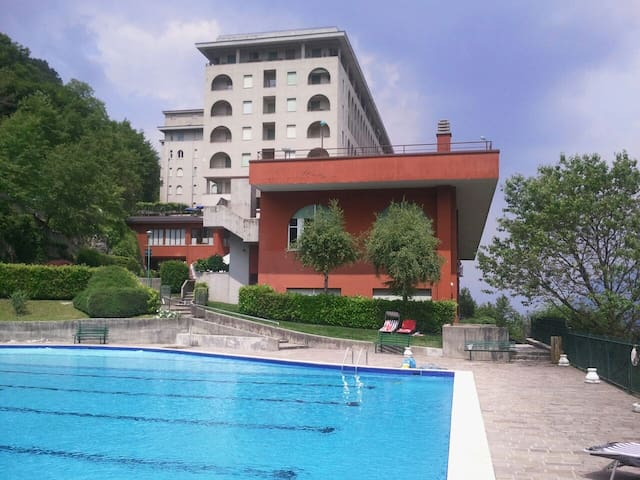 Piccolo nido, with pool Lecco Lake view