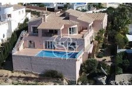 Villa with spectacular views of sea and mountains - Benitachell