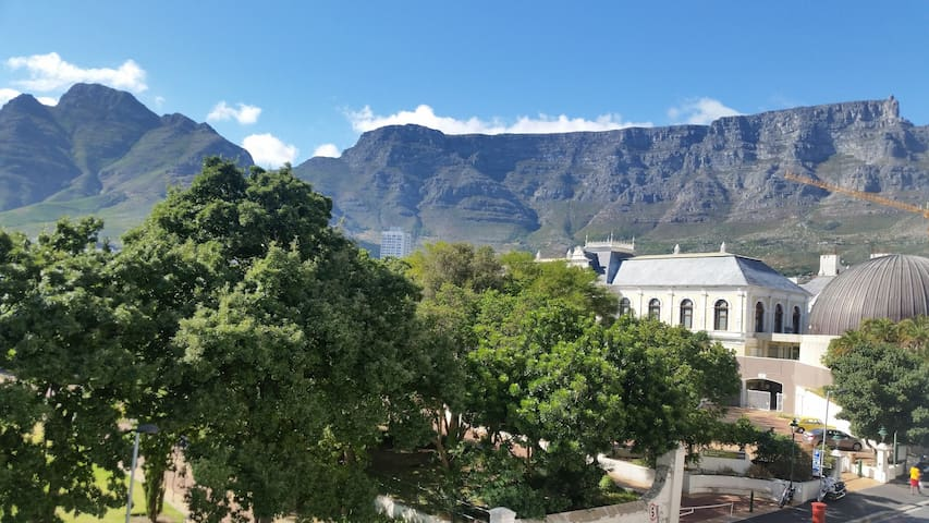 Studio space with a view in the heart of Cape Town