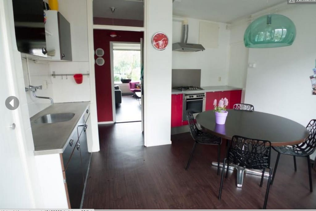 Kitchen, loads of space