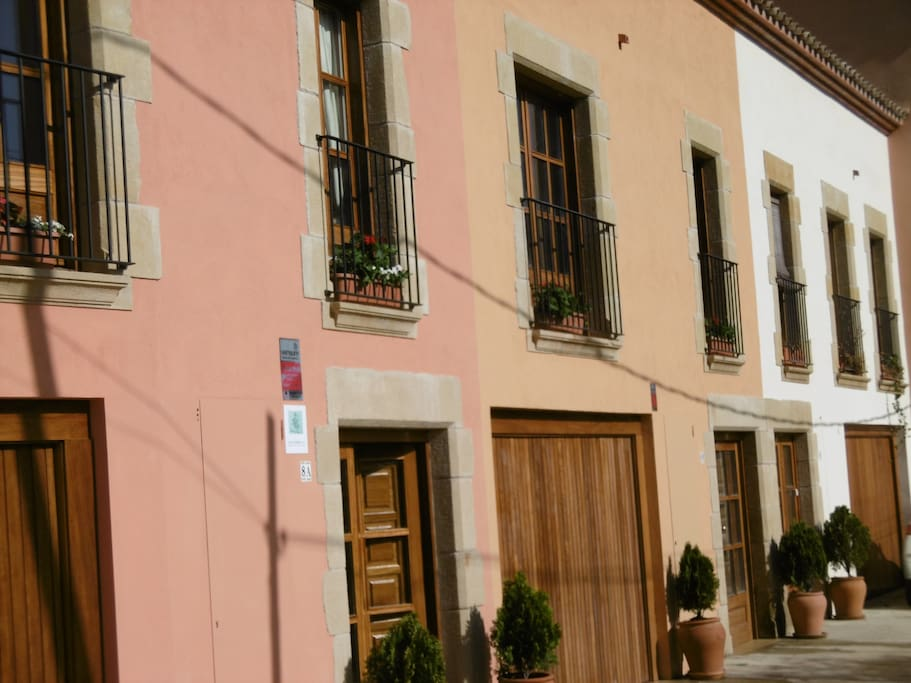 Townhouse in character medieval village 3km from the sea