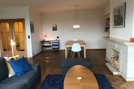 Spacious 3 bedroom apartment with amazing view - Gent - Byt