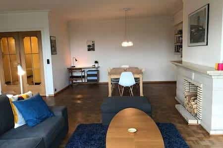Spacious 3 bedroom apartment with amazing view - Gent - Apartament