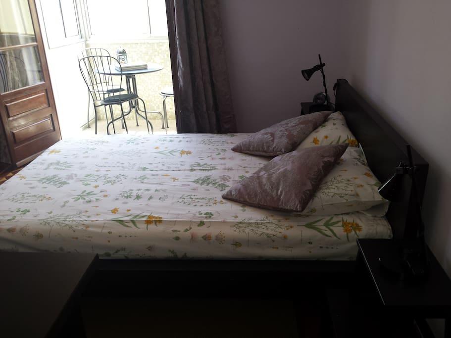 Quarto de casal (double bedroom)