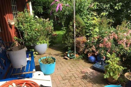 Zimmer in Haus mit Garten im Friesendorf Maasbüll - Risum-Lindholm