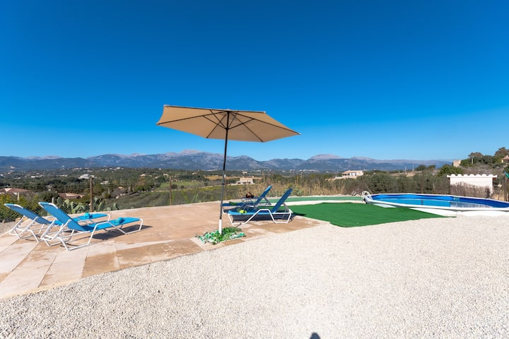 Can Rebasso: Cozy finca with clear views