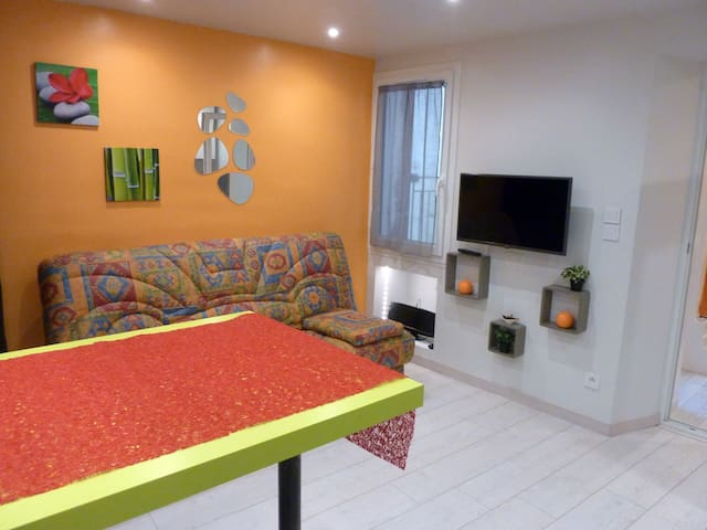 Studio  meublé -  2 pers. avec Wifi