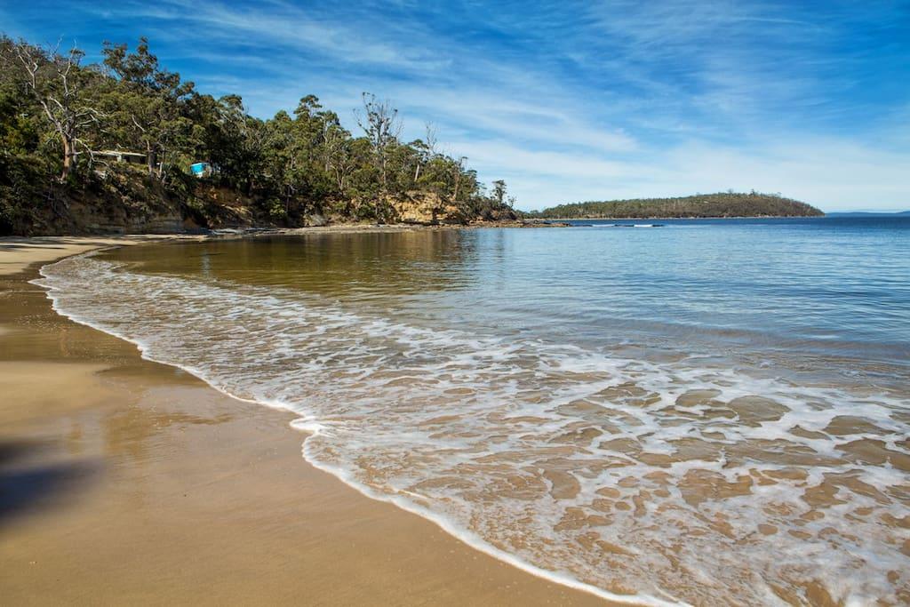 Randalls Bay beach