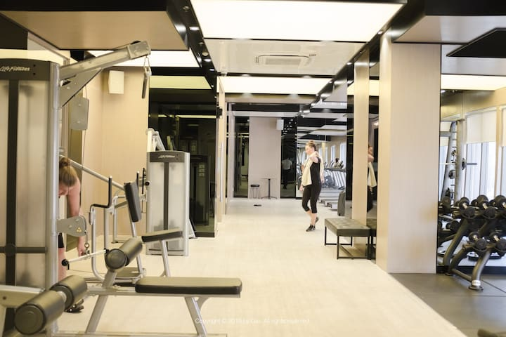 Stylist gym with all modern facilities