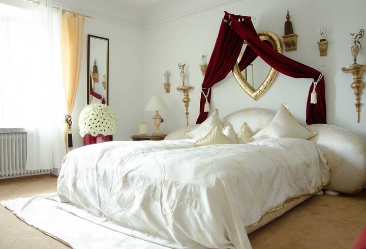 Goldene Suite, mit Whirlpool