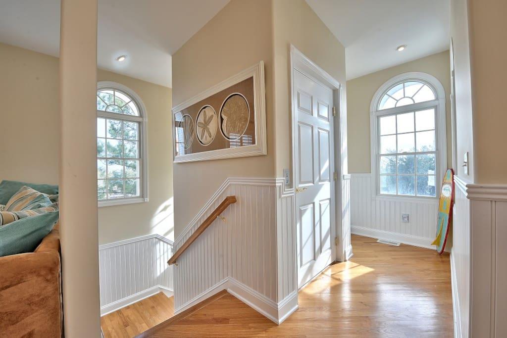 Stairway to all floors