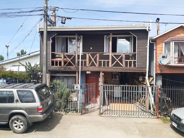 Alojamiento casa familiar Chiloé