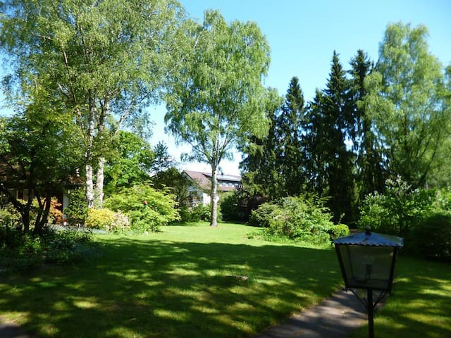 Zimmer im Grünen - Nähe Thermalbad - Bad Bevensen - Huis