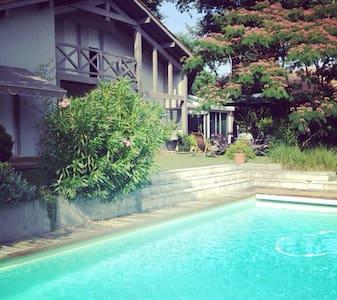 Grande Maison Jardin et Piscine - Mont-de-Marsan - Hus