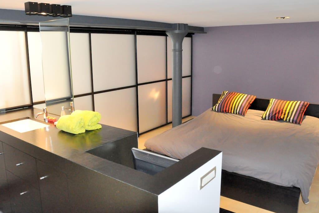 Maxi loft 200m2 met parking loft 39 s te huur in gent oost vlaanderen belgi - Loft met mezzanine ...