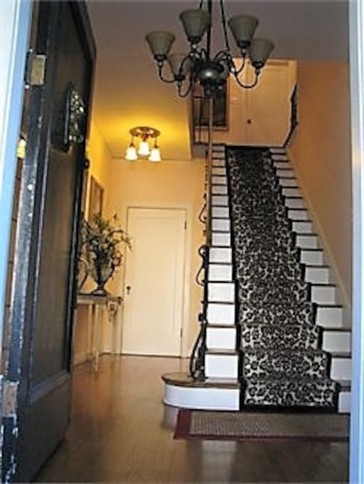 STAIRWAY TO YOUR PRIVATE ONE BEDROOM