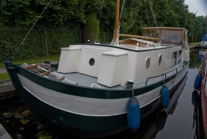Beautiful Dutch Barge - Saltford Bath - Łódź