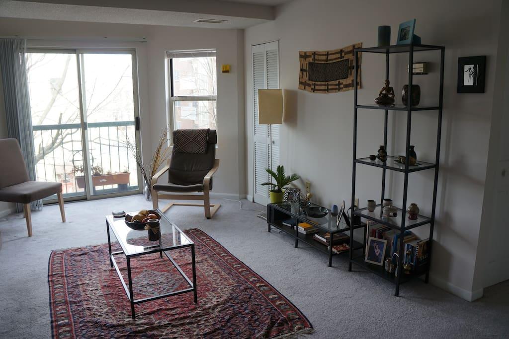 very spacious living room