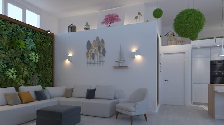 Apartamento Loft Santander, céntrico, luminoso